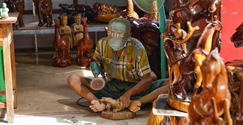 Artesanía en Birmania