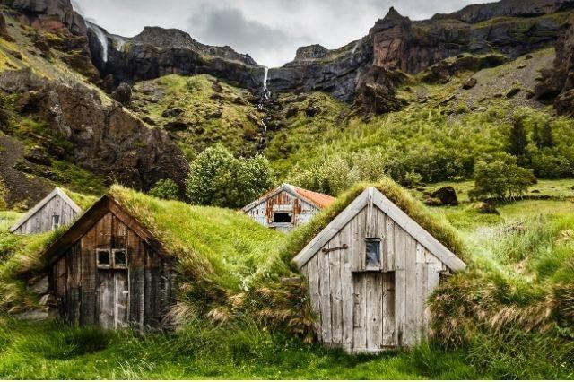 Casas en Islandia
