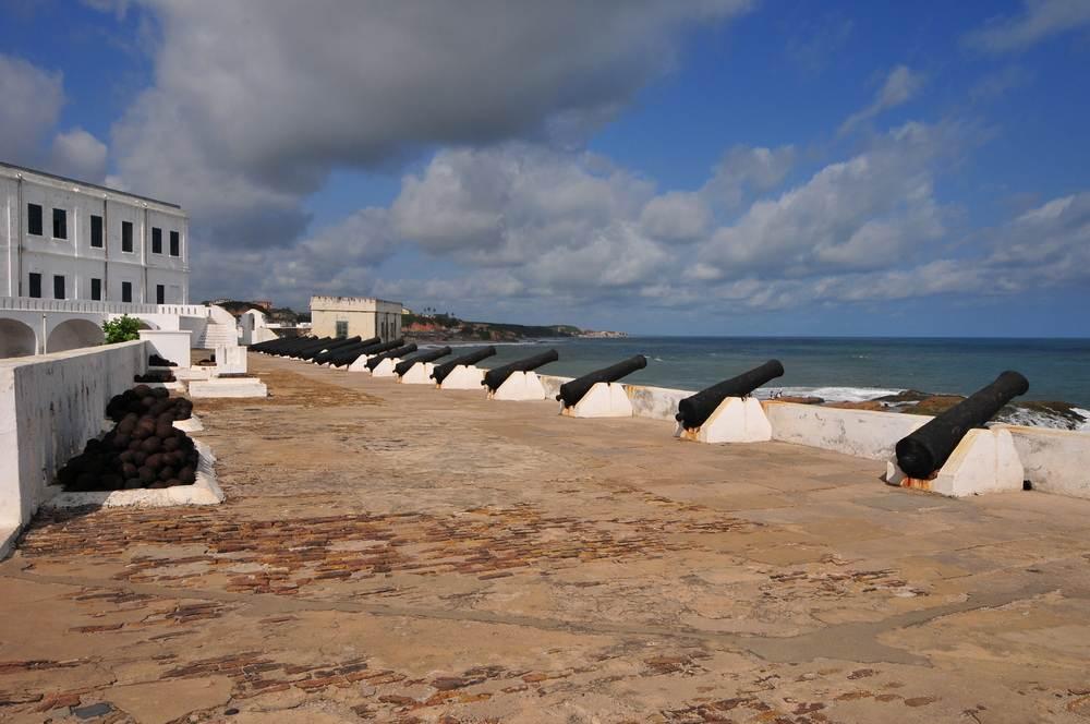 "La puerta de ""No Retorno"". Cape Coast en Ghana"