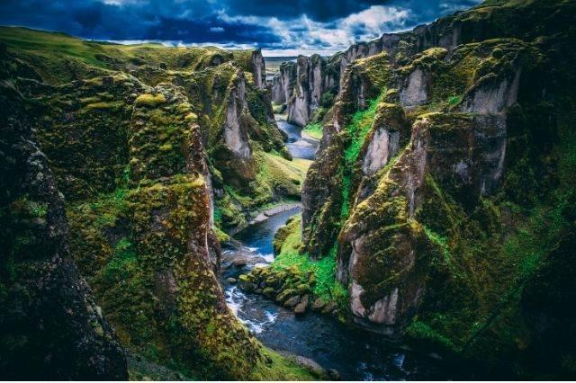 Desfiladero de Islandia