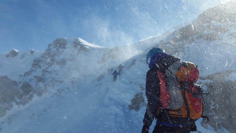 Esquiar en penitentes