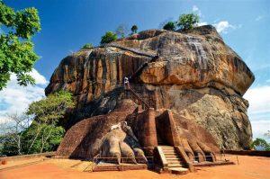 Fortaleza de la roca del León - Sri Lanka