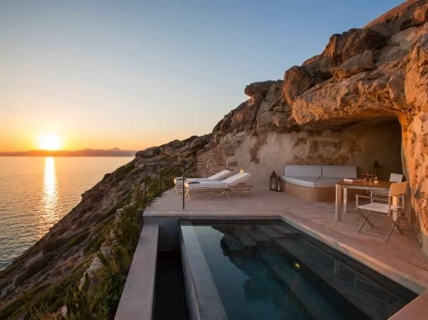 Cap Rocat Mallorca piscina privada suite