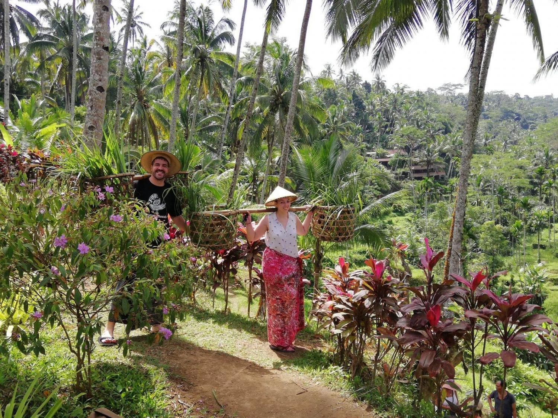 Alejandro y Natalia nos cuentan su experiencia en Indonesia