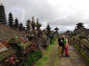 Alejandro y Natalia en Indonesia