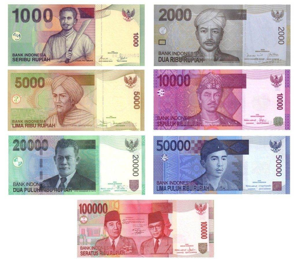 Billetes de la República de Indonesia