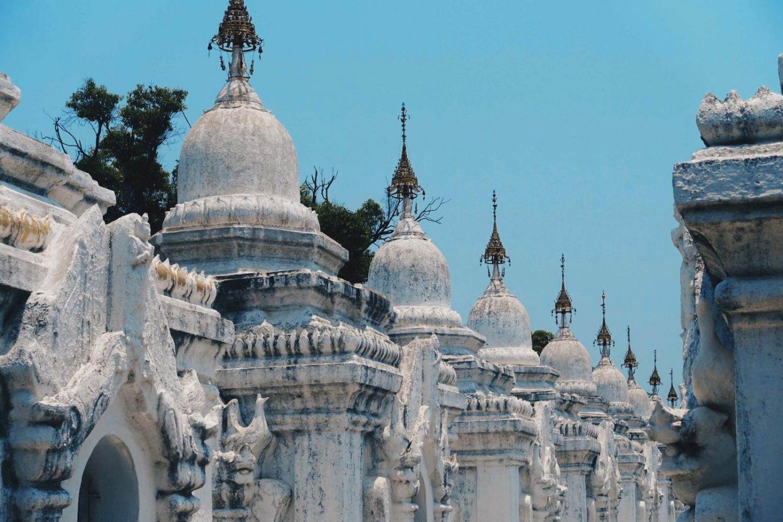 Templo budista en Mandalay
