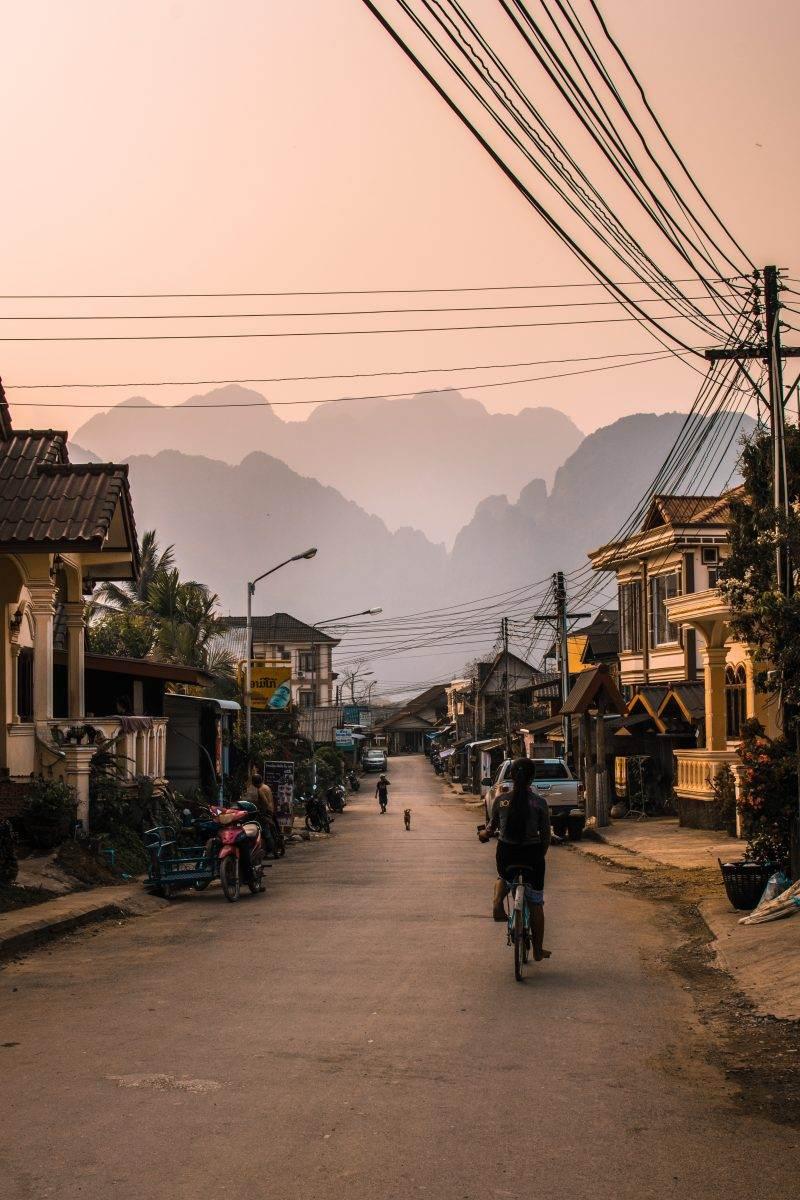 calle de Laos