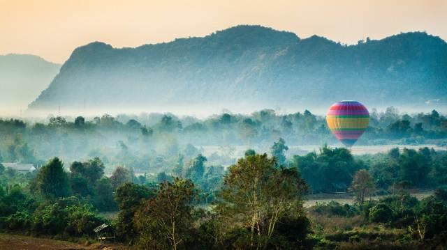 Laos globo
