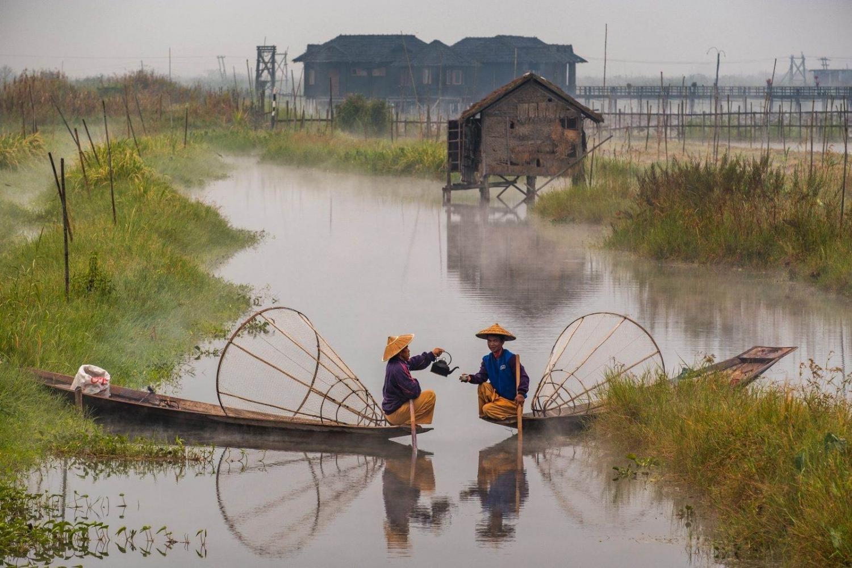 En Burma (Birmania) puedes navegar por el río Irawadi