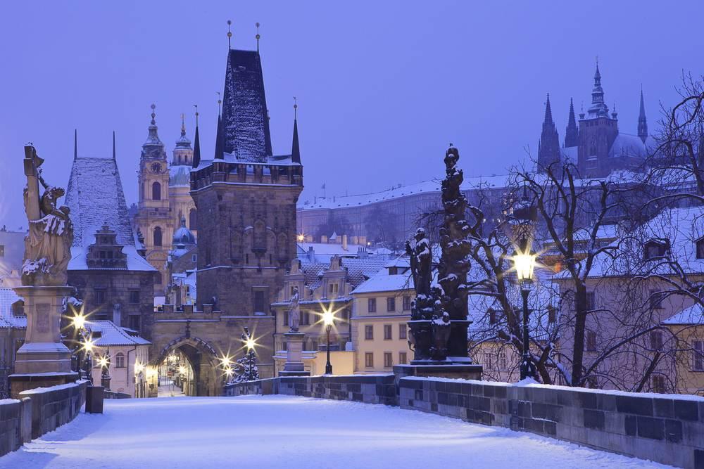 Praga en Navidad: Tamara & Antonio