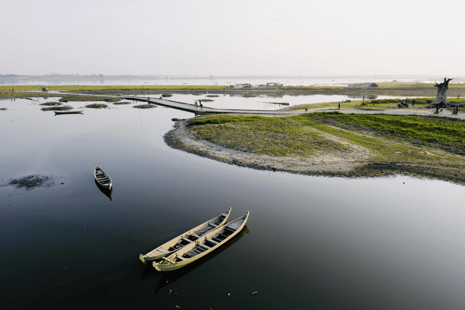 Paisaje natural Birmania