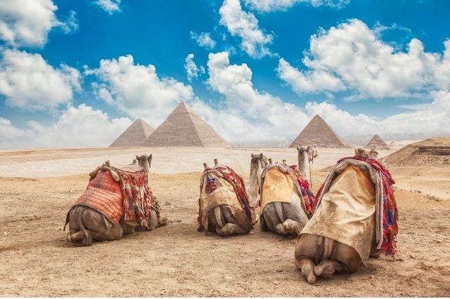Pirámide en Egipto