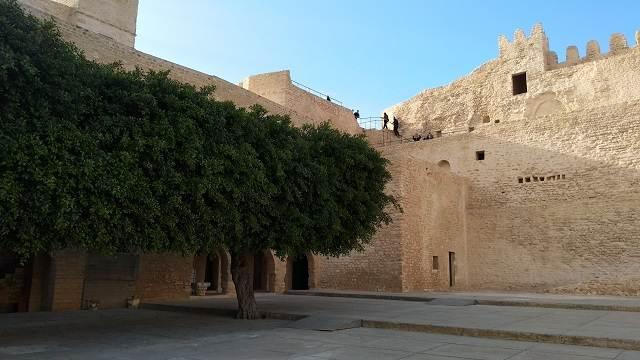 Castillo del Ribat en Túnez
