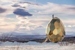 Huevo solar Laponia