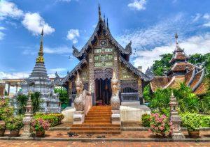 Templo religiosos en Tailandia