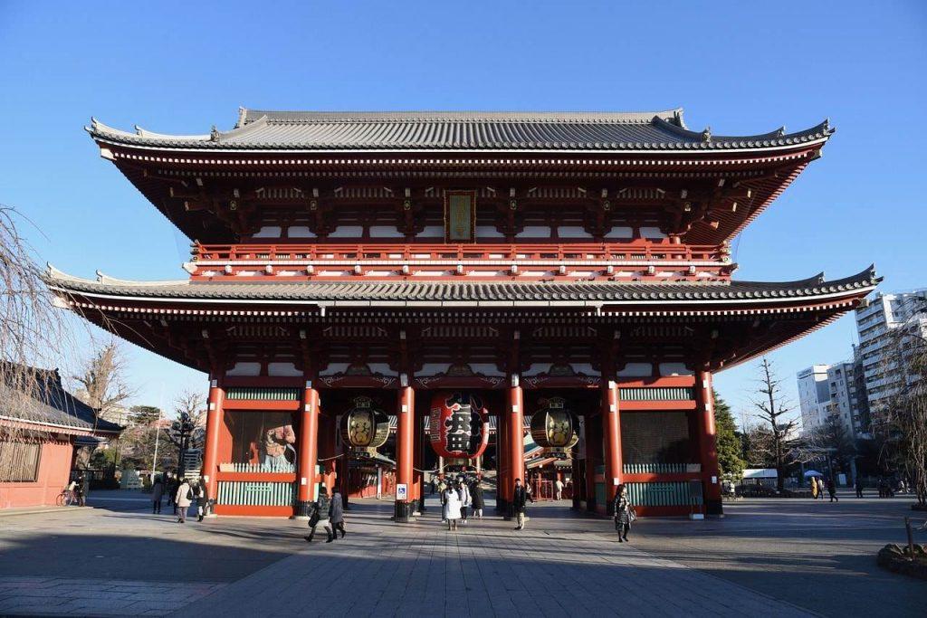 Templo de Asakusa Kannon - japon