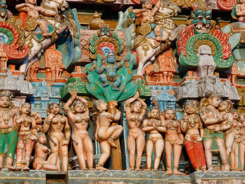 Templo de Vishnu en India