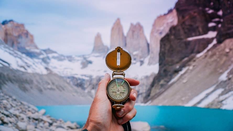 Vistas del Parque Nacional Torres del Paine en Chile