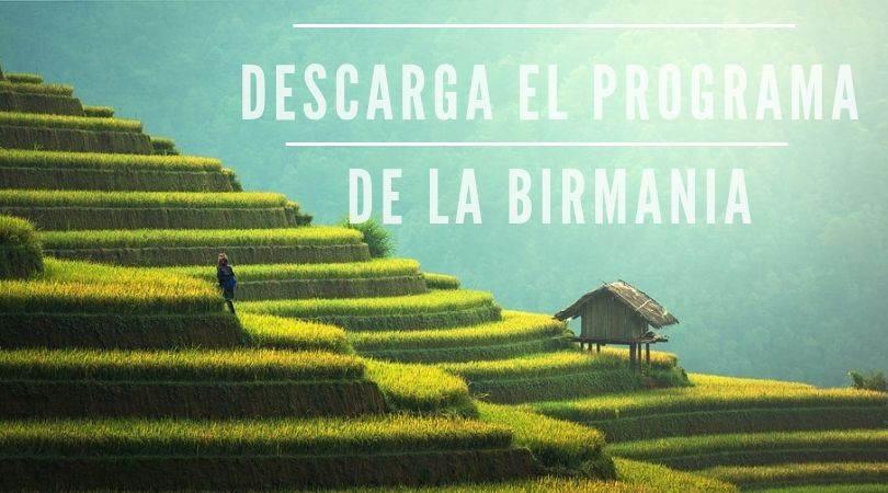 banner descarga programa Birmania