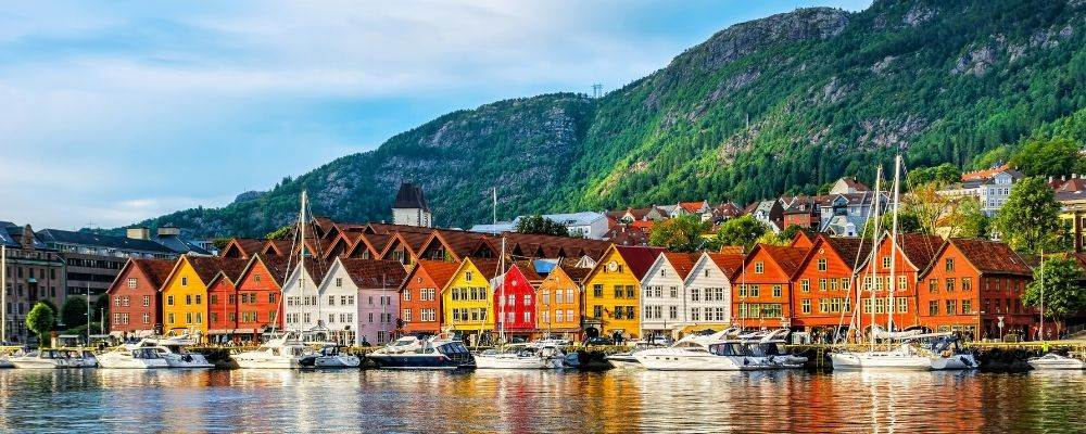 Noruega en tren