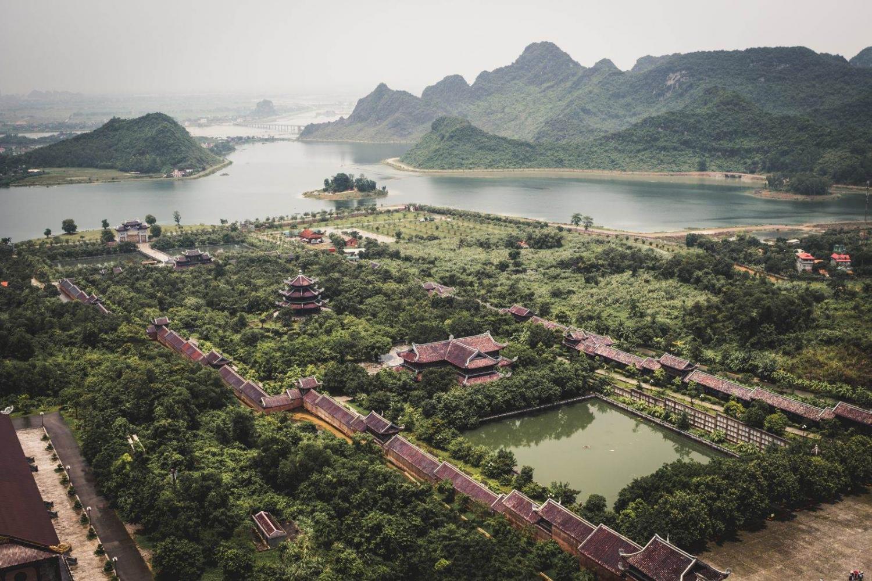 templo en vietnam