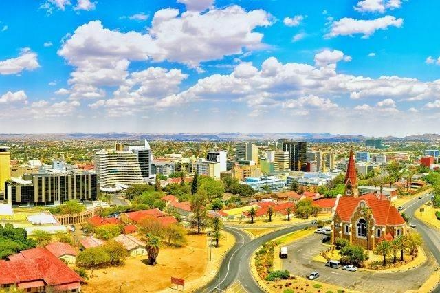 Vista general de Windhoek