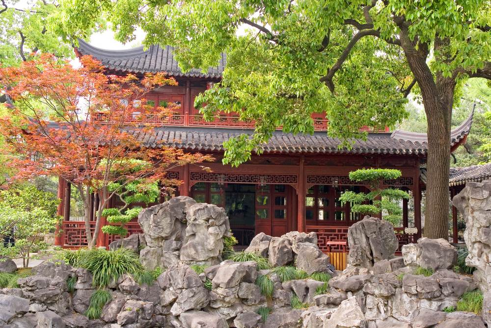 El delicado Jardín Yuyuan