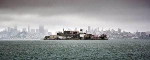 Vista de alcatraz y san francisco