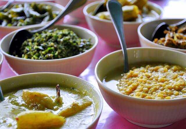 comida tipica de Sri Lanka