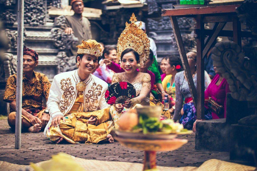 pareja en Bali
