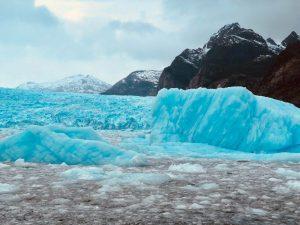 Glaciares en la región de Aysén del General Carlos Ibáñez del Campo, Chile