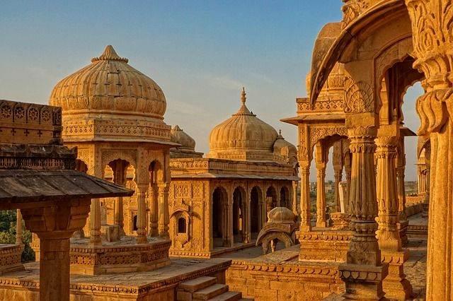 Bada Bagh templo de la India