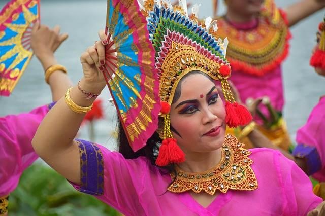 Baile tradicional de Bali