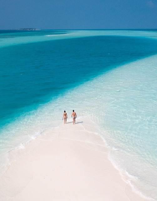 sandbank maldivas