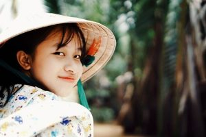 Niña vietnamita