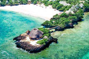 Hotel sobre el mar en Chale Island