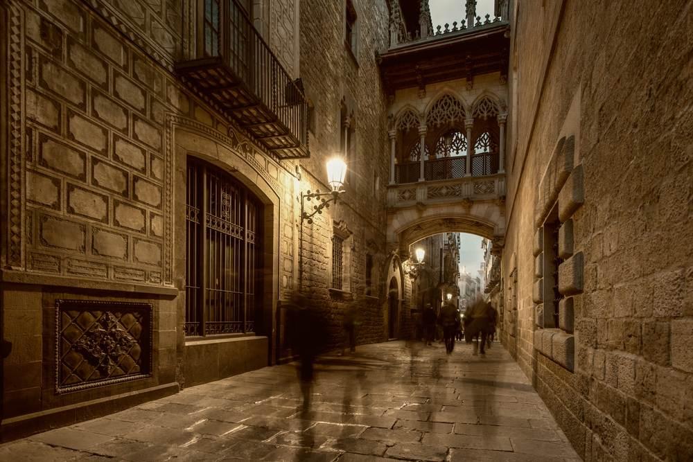 Un día en el Barrio Gótico…