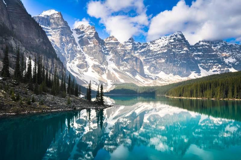 montañas impresionantes