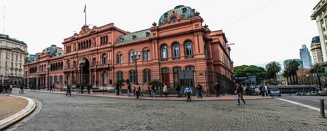 La Casa Rosada de Buenos Aires, Argentina