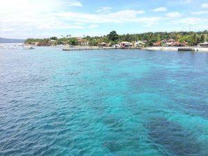 Playa de Cebú en Filipinas