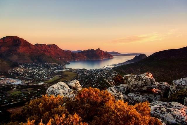 vistas de Ciudad del Cabo