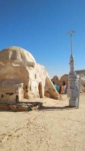 Pueblo de Anakin Skywalker en Túnez