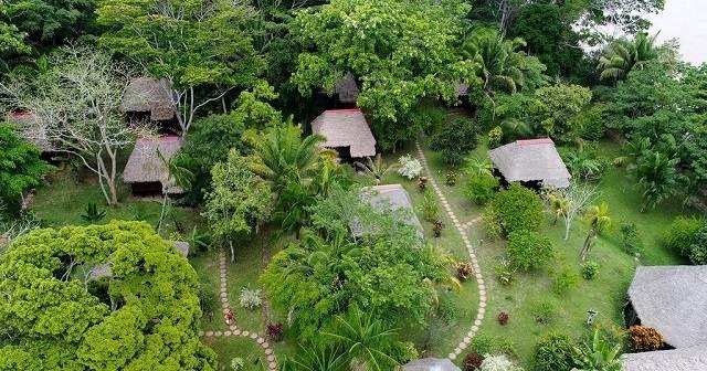 Vista aérea de Corto Maltés Amazonia