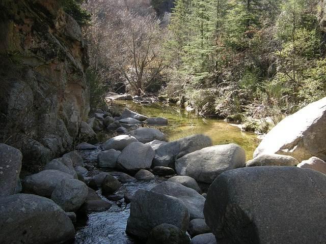 río en Cumbrecita en Córdoba, Argentina