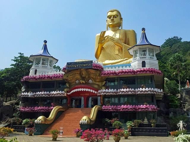 dambulla-El templo de oro