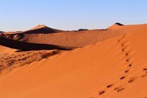 Dunas del desierto de Namibia