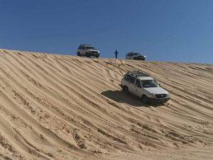 Rally por las dunas de Túnez