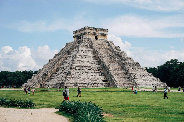 pirámide de chichén itzá en méxico