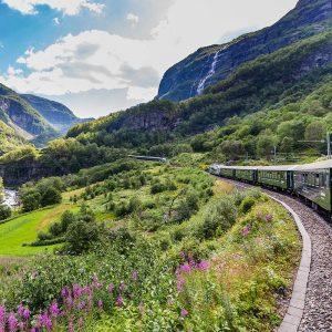 Noruega y fiordos en tren